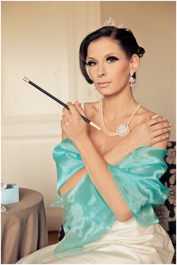 breakfast at tiffanys bridal_style