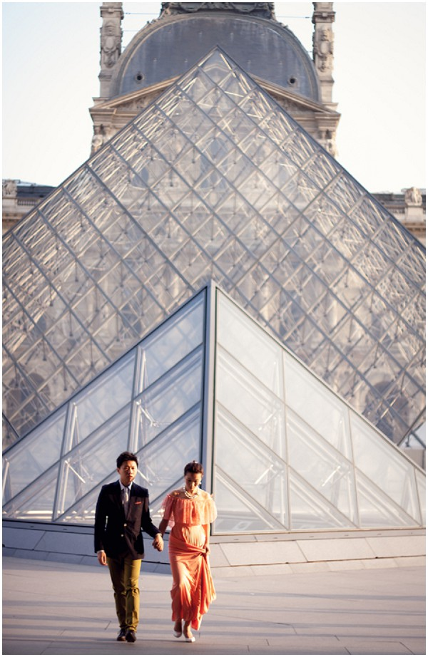 chinese engagement photography paris
