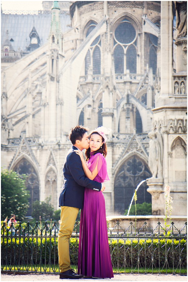 hong kong style paris - radiant orchid dress