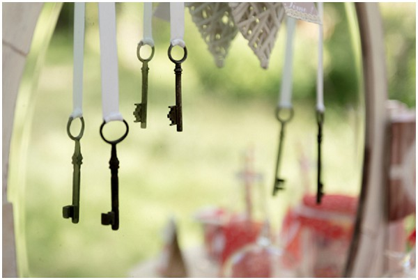key wedding favours