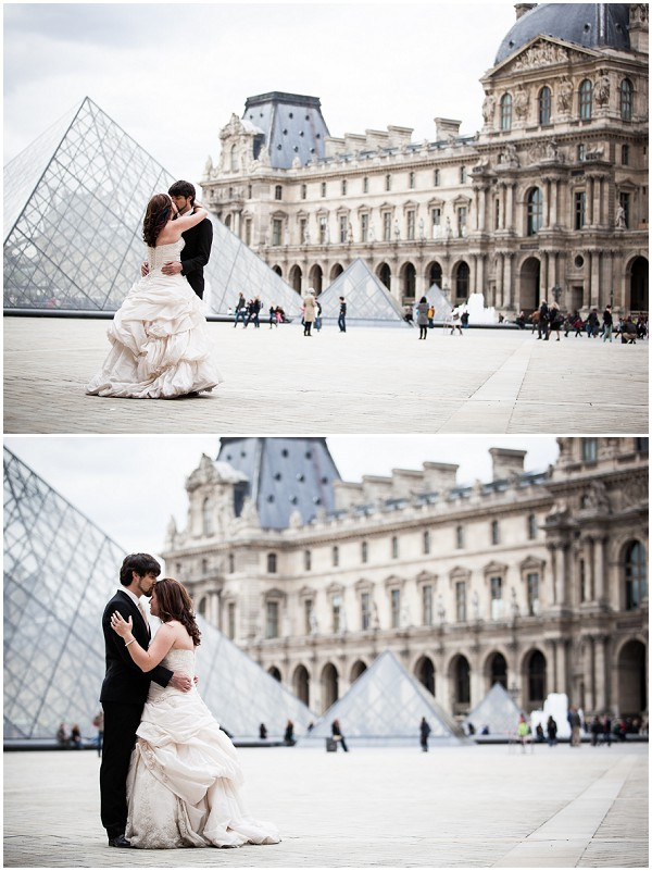 louvre trash the dress