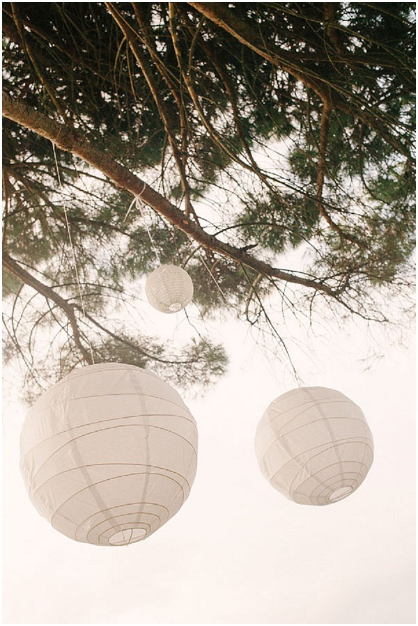 paper lanterns wedding