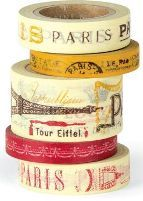 paris decorative tape