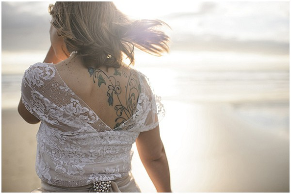 tattoed bride
