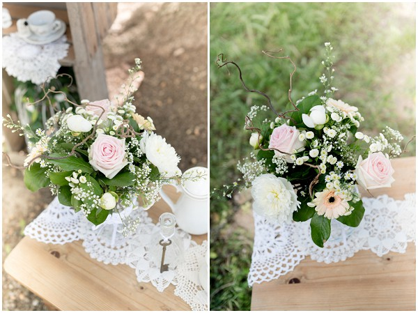 vintage wedding flower ideas