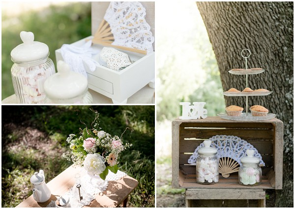 woodland wedding details