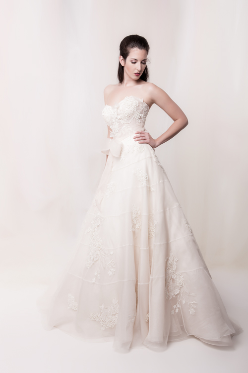 Sarah Houston romantic wedding dress