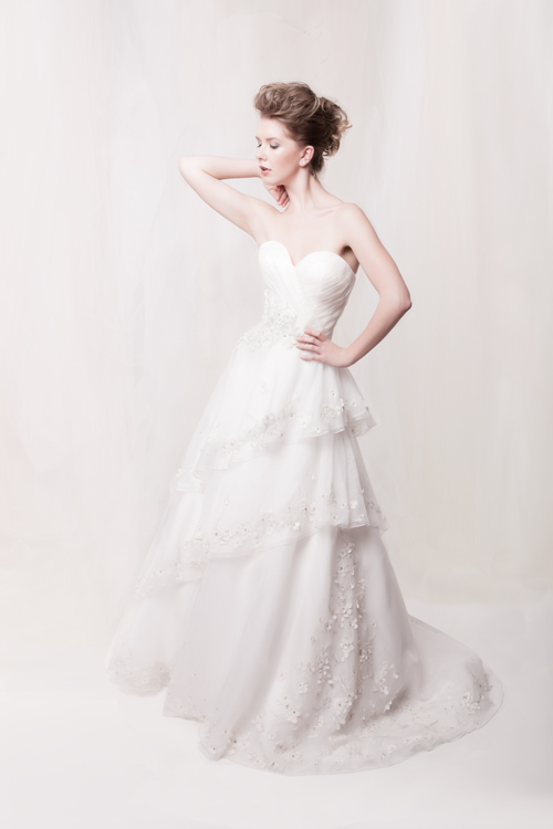Romantic bridalwear by Sarah Houston