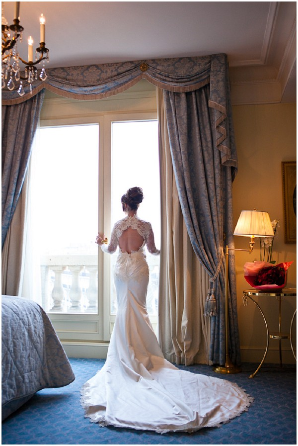 couture wedding gown paris