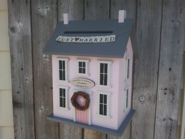 doll house wedding card box