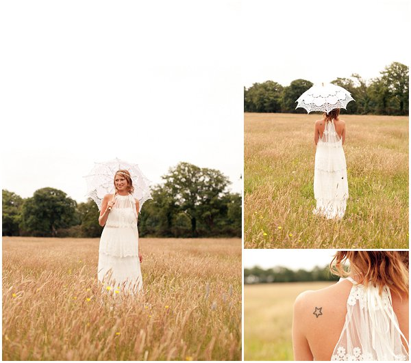 french boho bride
