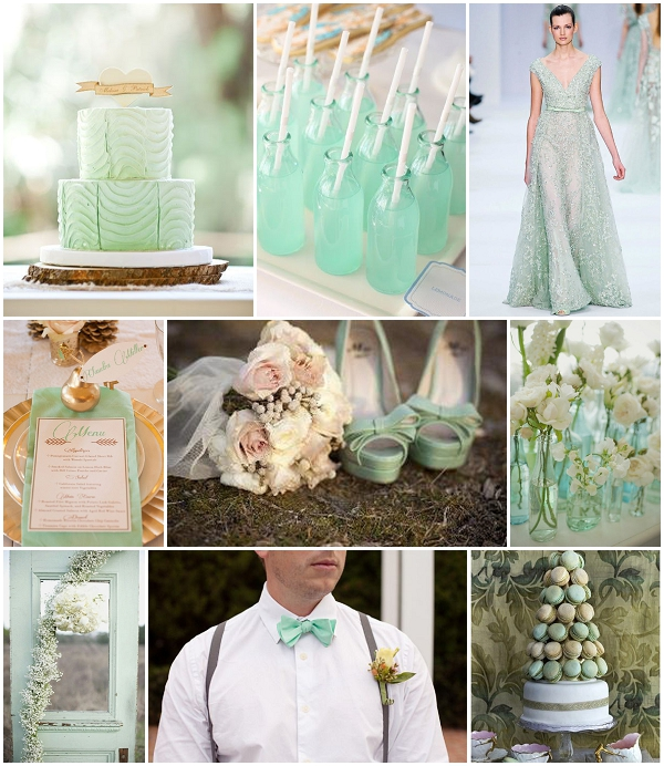 Wedding Ideas And Inspirations: Mint Green Wedding Inspiration