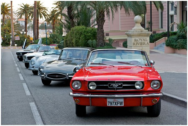 vintage cars french riviera