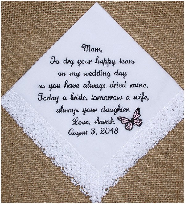Wedding Gift For The Bride Who Has Everything : have tried to think about everyone and everything over our wedding ...