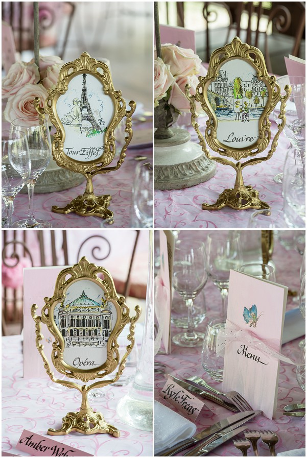 French table wedding names