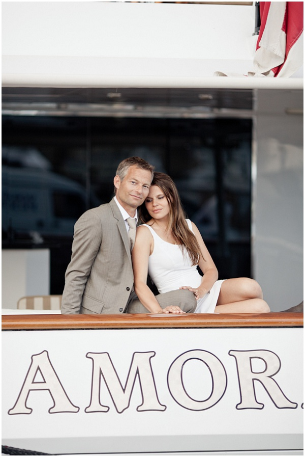 Amor names Boat | Photography © Katy Lunsford on French Wedding Style Blog
