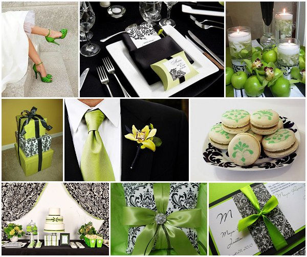 Black Damask Wedding Ideas