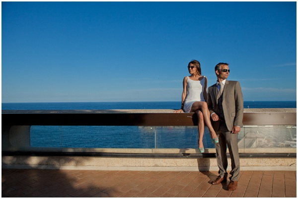 Bright blue sky in Monaco | Photography © Katy Lunsford on French Wedding Style Blog