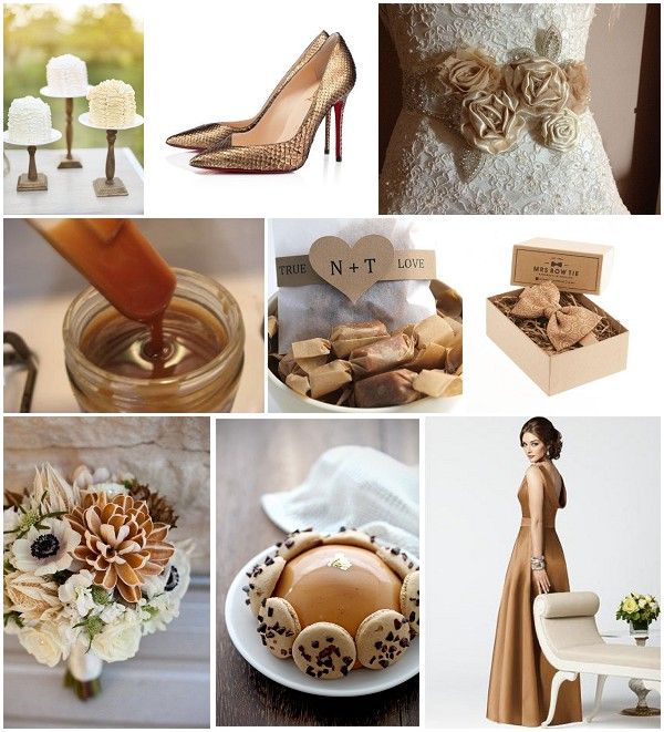 butterscotch wedding ideas