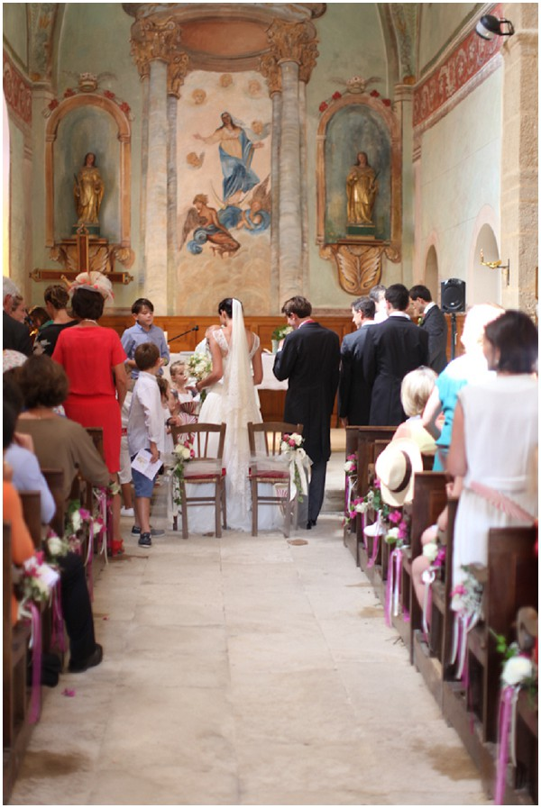 church wedding Avignonin