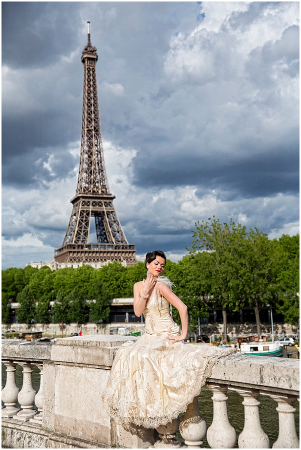 Vintage glamour with kel leigh couture in paris for Vintage wedding dresses paris