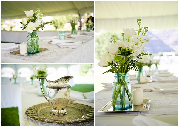 diy wedding tent decorations | Photography © Adna Photography on French Wedding Style Blog