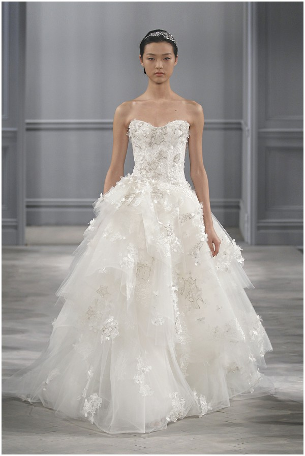 Monique lhuillier spring 2014 bridal collection for Monique lhuillier bridal designers