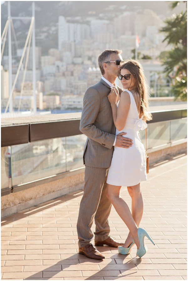 Engagement shoot in Monaco | Photography © Katy Lunsford on French Wedding Style Blog