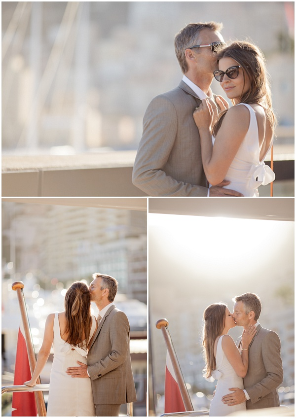 Monaco power couple | Photography © Katy Lunsford on French Wedding Style Blog