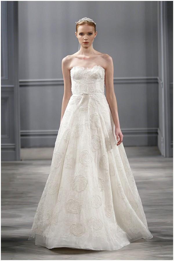 Monique lhuillier spring 2014 bridal collection for Price of monique lhuillier wedding dresses