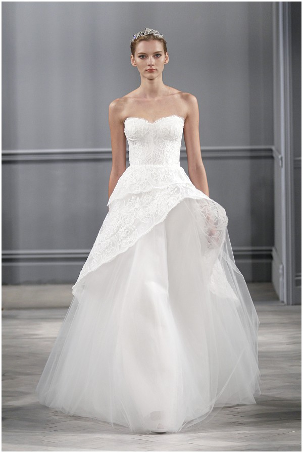 Monique lhuillier spring 2014 bridal collection for Monique lhuillier wedding dress