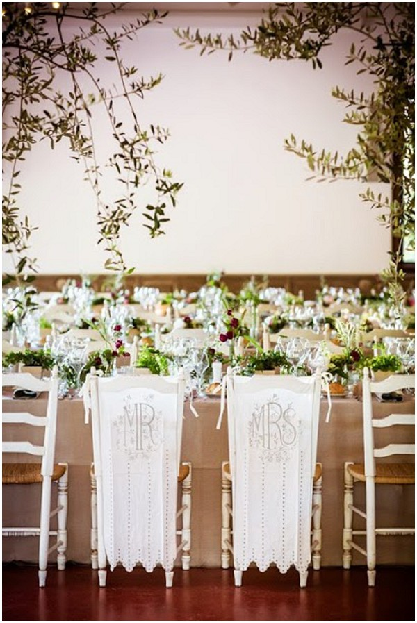 mr mrs chair covers