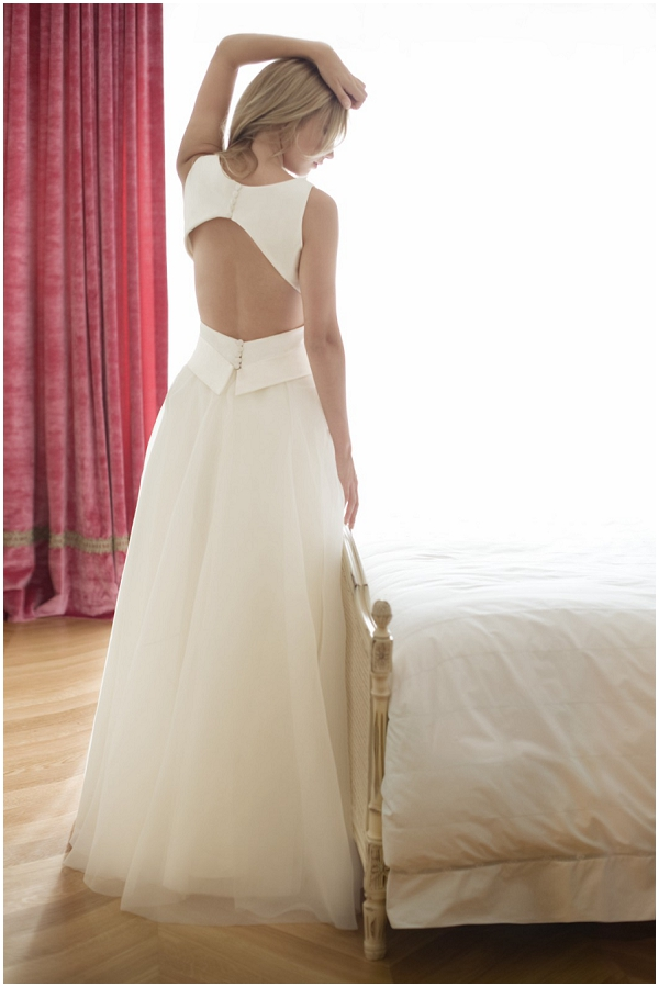 Introducing french wedding dress designer fabienne alagama for Custom wedding dress designers