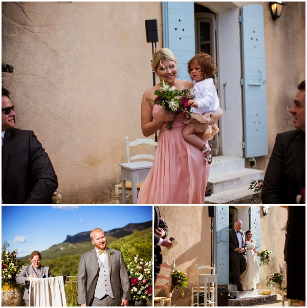 picturesque wedding aisle | Photography © Jean-Louis Brun, Styling by Fête in France on French Wedding Style Blog