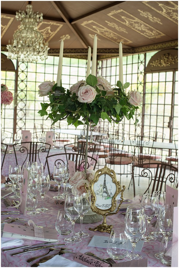 pink gold wedding style