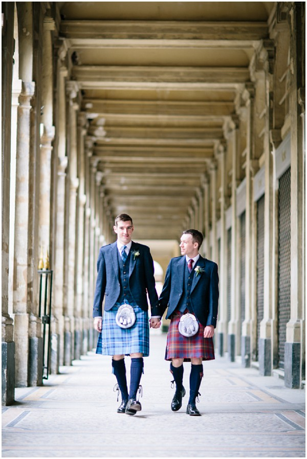 scottish wedding in paris