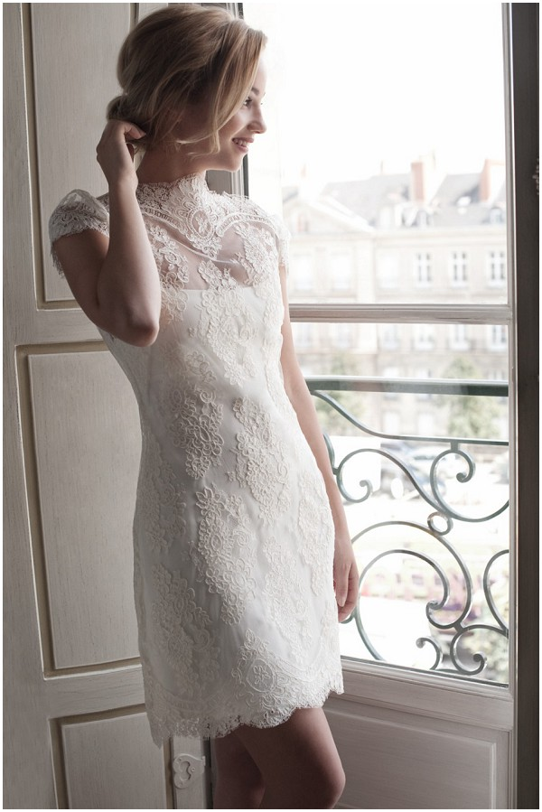 short wedding dress paris