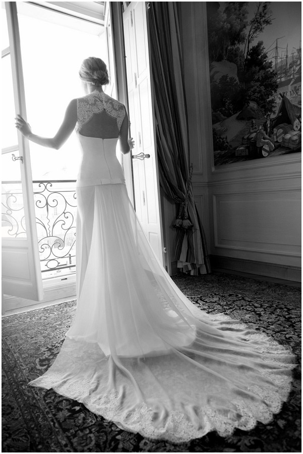 wedding dress in paris