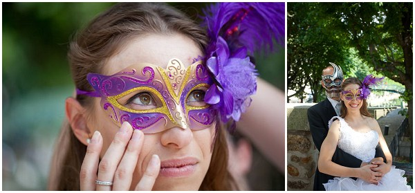 bridal masquerade mask