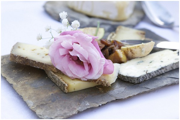 Decorative cheese plate