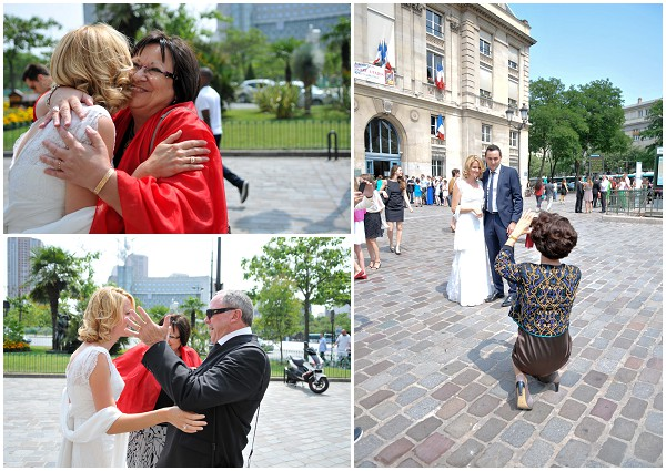 family wedding paris