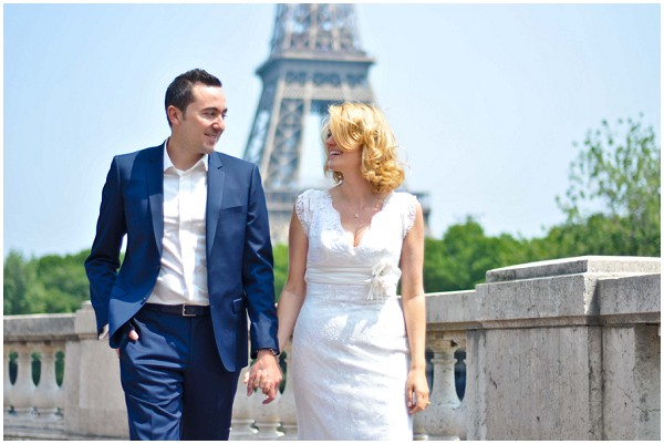 paris low key wedding