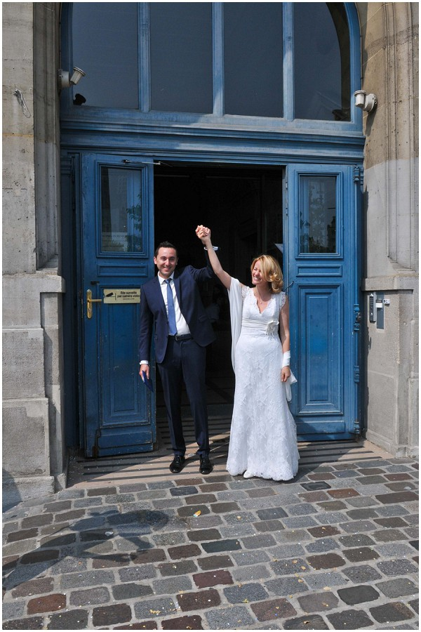 real life wedding in paris