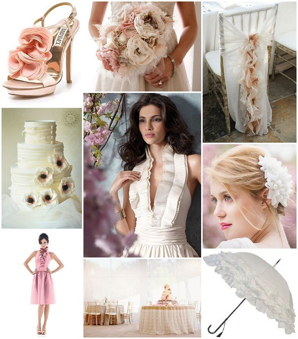 ruffle romance wedding ideas