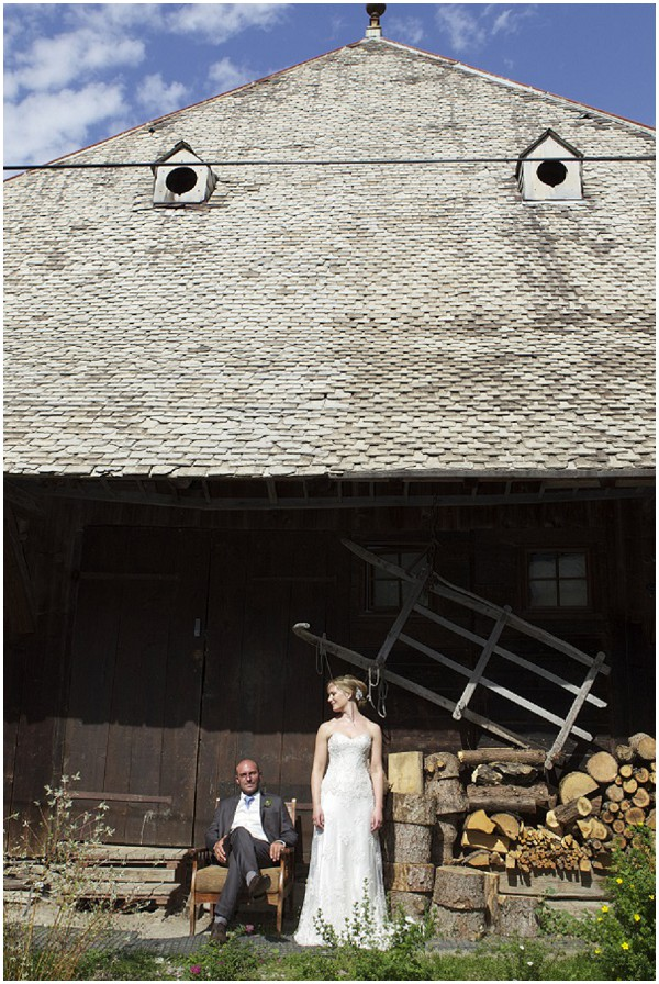 rustic wedding barn in France