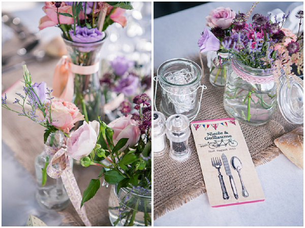Village Fete Themed Wedding In Provence At Rustic Vineyard