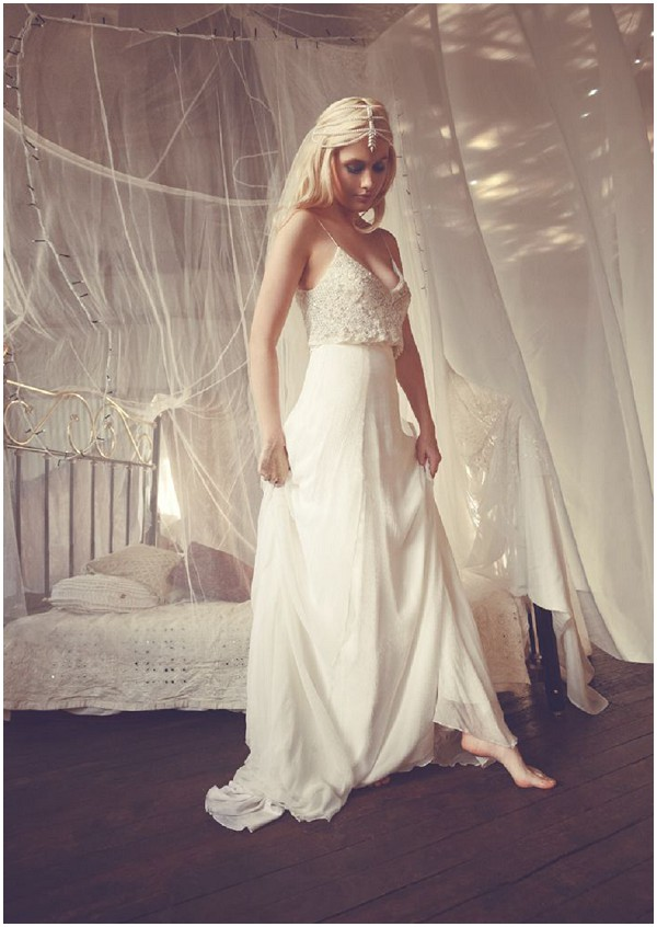 Princess boho bridal wear