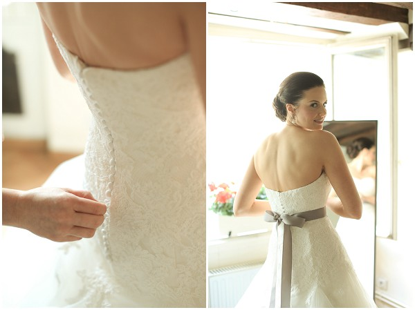 Bridal preparations in Paris