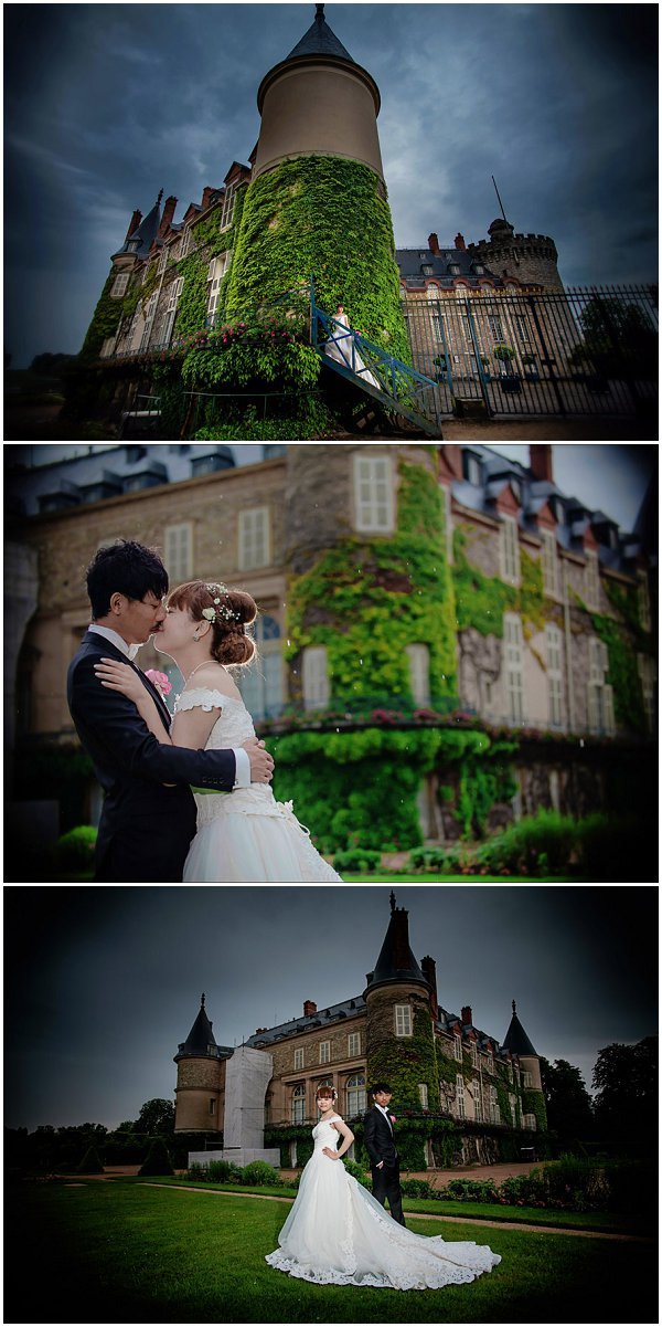 chateau wedding outside paris