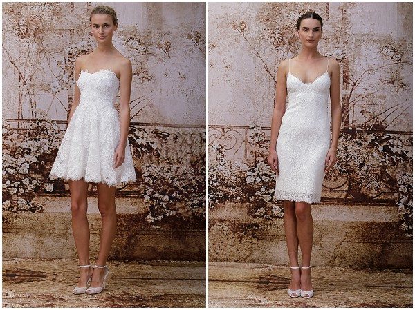 Civil style wedding dresses